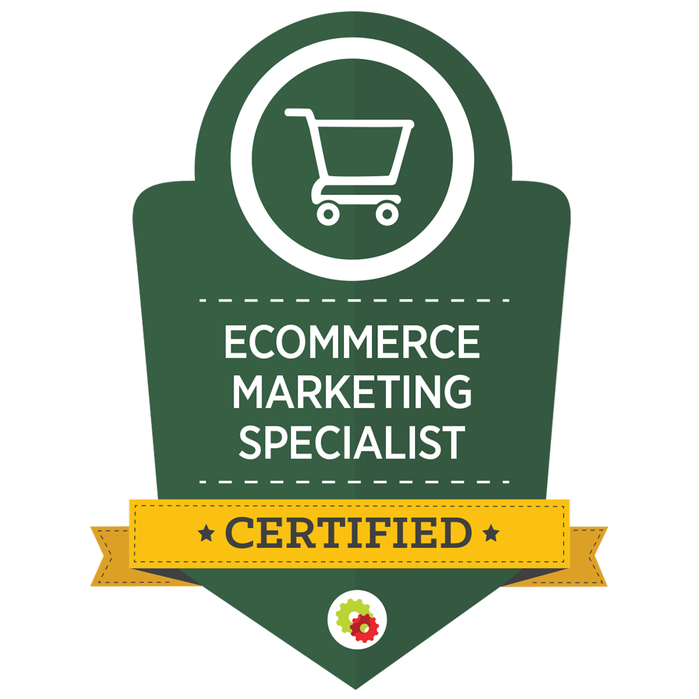 E-comerce marketing specialist certified