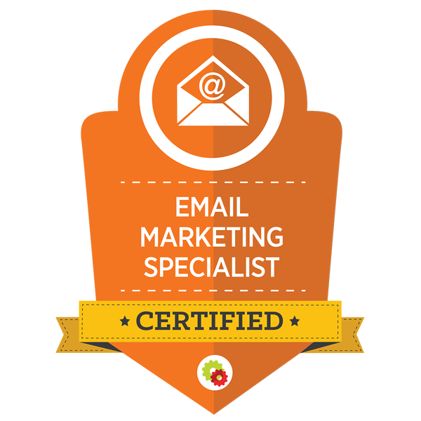 Email marketing specialist certified