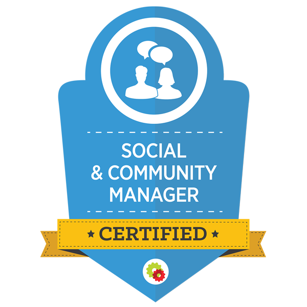 Social Community Manager certified